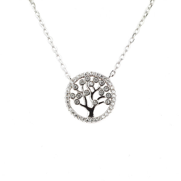 SANTO SILVER TREE OF LIFE NECKLACE