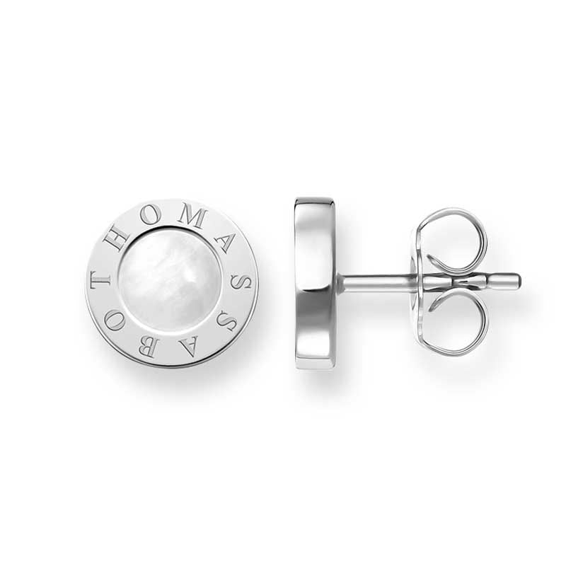 THOMAS SABO MOTHER OF PEARL STUDS