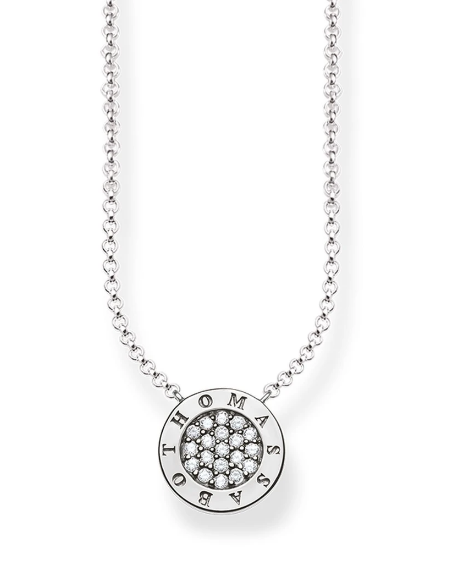 THOMAS SABO CZ SIGNATURE NECKLACE