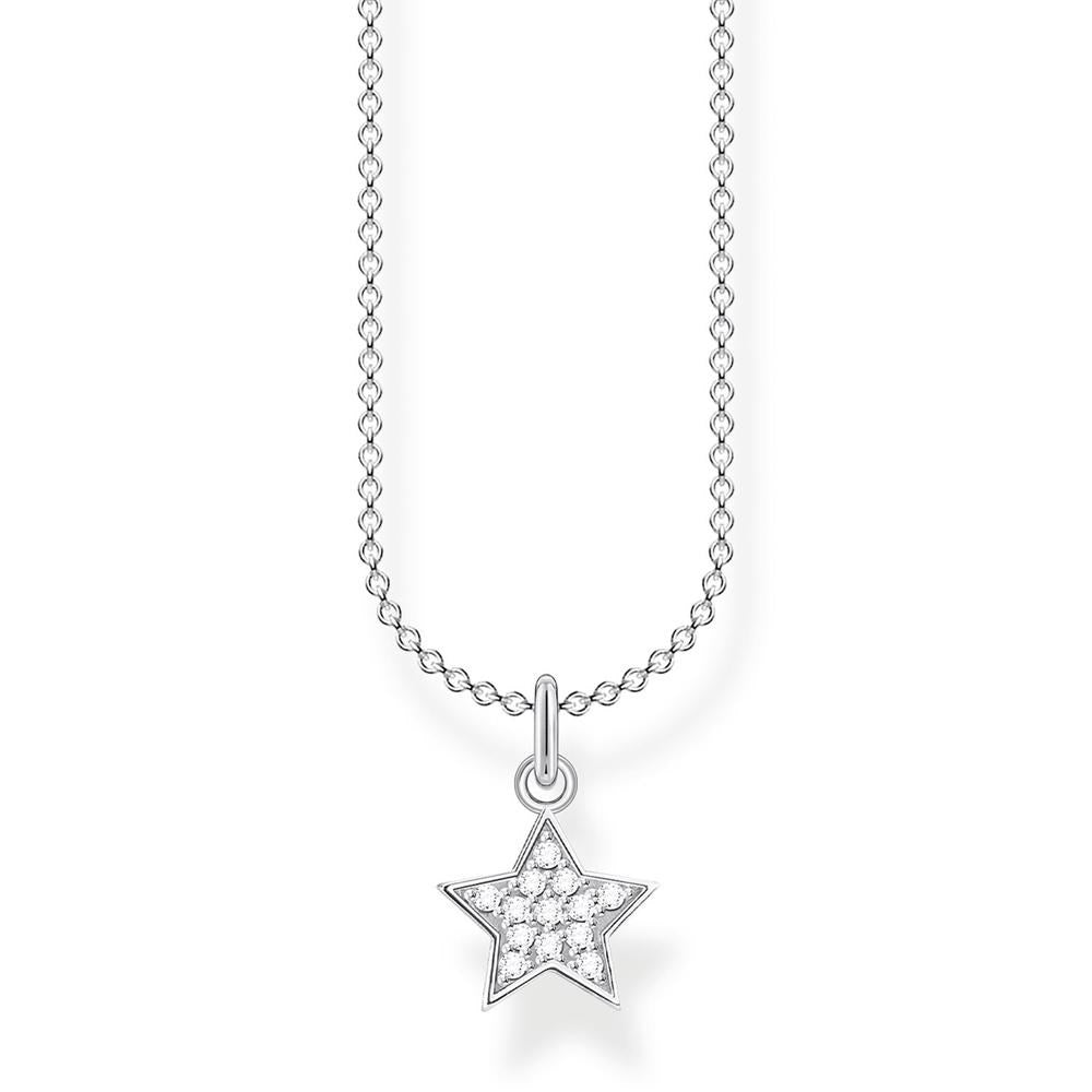 THOMAS SABO CZ STAR NECKLACE