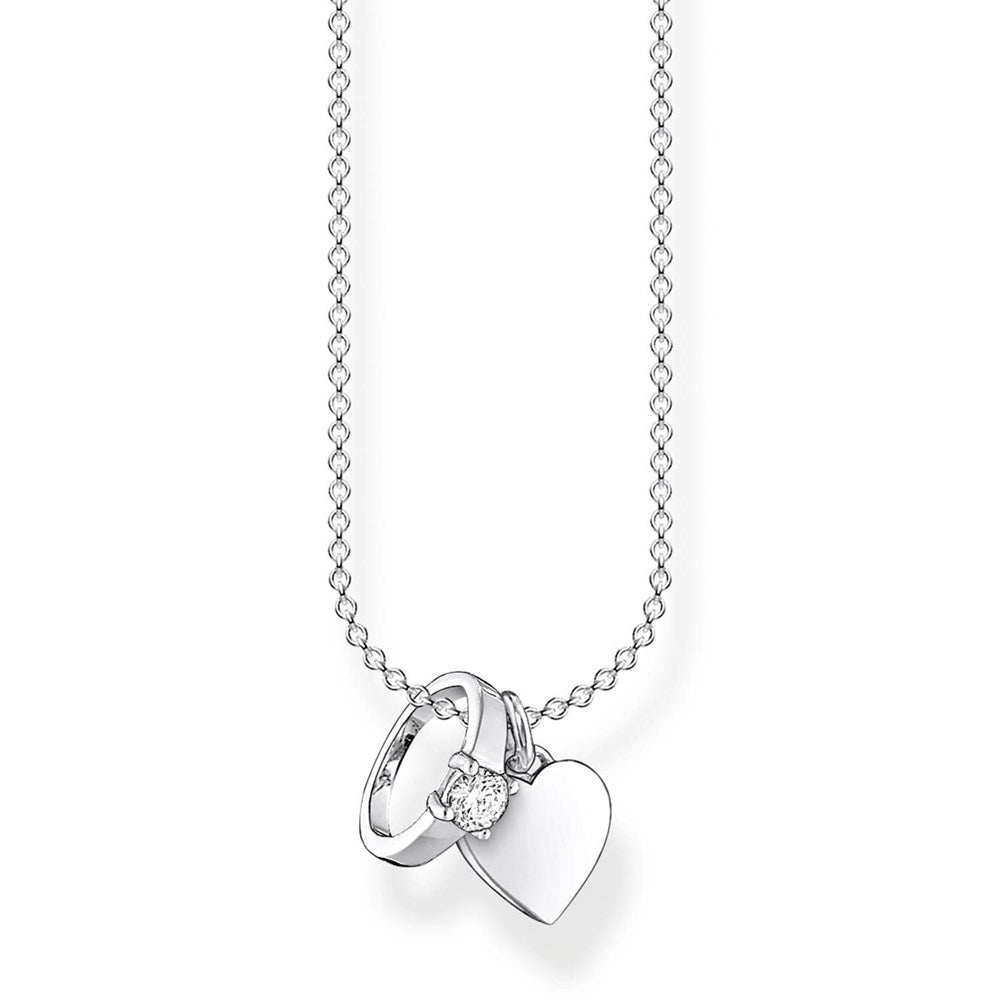THOMAS SABO RING + HEART NECKLACE