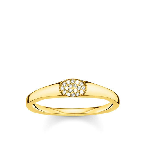 THOMAS SABO GOLD CZ RING