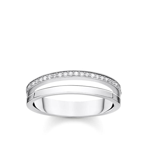 THOMAS SABO CZ STACKER RING