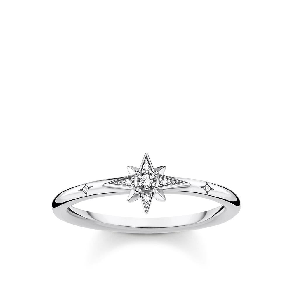 THOMAS SABO CZ STAR RING
