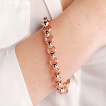 Load image into Gallery viewer, ROSE GOLD BELCHER BRONZALLURE BRACELET