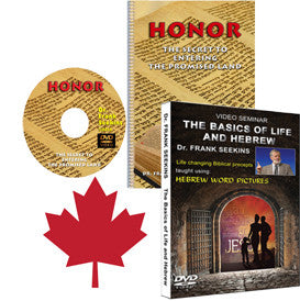 Honor and Basics of Life and Hebrew - Canadian First Class