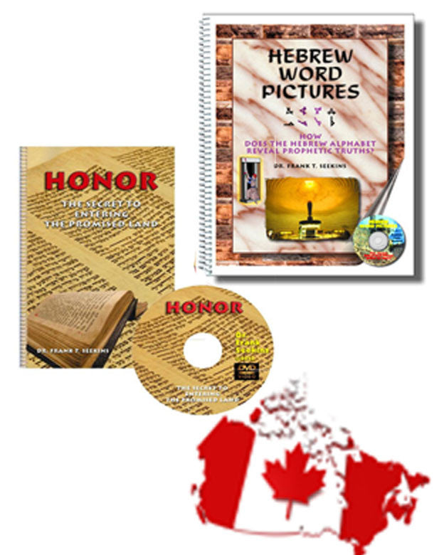 Hebrew Word Pictures and Honor  - Canada - 25 percent Off
