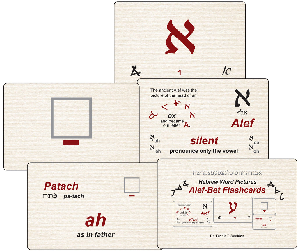 Hebrew Word Pictures Flashcards