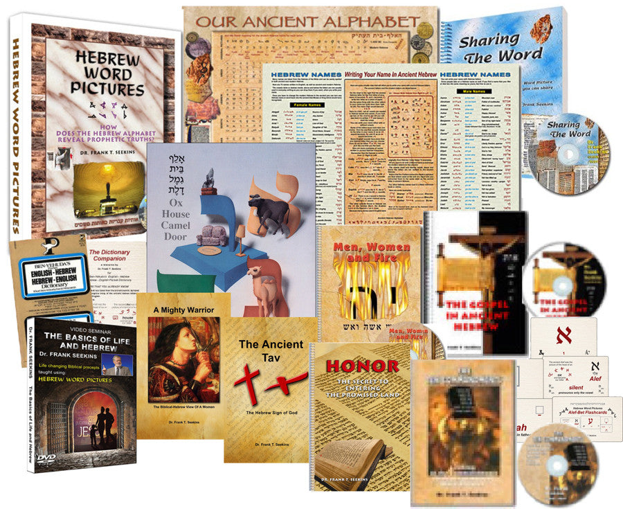 Complete Hebrew Word Pictures Package
