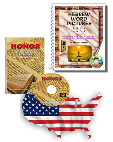 Hebrew Word Pictures and Honor  - U.S. - 25 percent Off