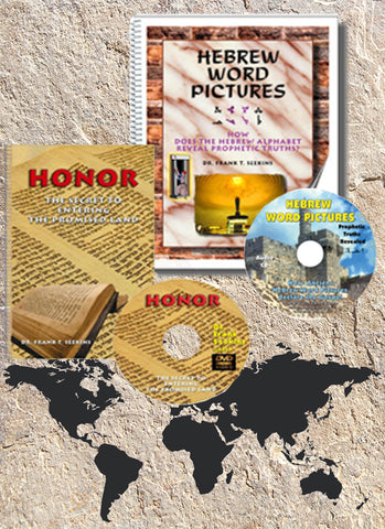 Hebrew Word Pictures and Honor  - with Worldwide shipping - 25 percent off -