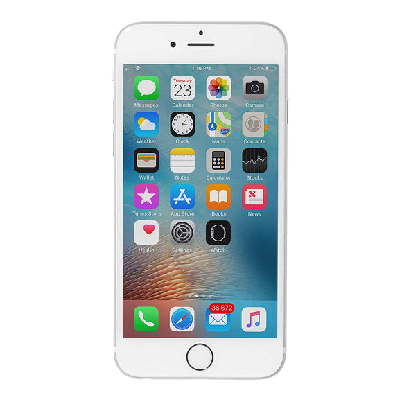 Apple iPhone 6  64GB refurbished silver color