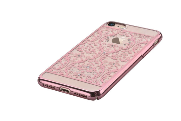iPhone 7Plus/8Plus - Crystal Baroque (Rose Gold)