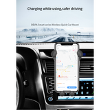 Smart Series Wireless Quick Charger Car Mount