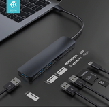 Leopard HUB 5 In 1 From Type-C To USB 3 Card Reader