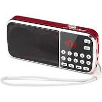 Small Portable Digital AM FM Bluetooth Radio