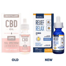 Load image into Gallery viewer, CBDistillery Full Spectrum CBD Oil Tincture - 1000mg - 30ml