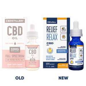 CBDistillery Full Spectrum CBD Oil Tincture - 1000mg - 30ml