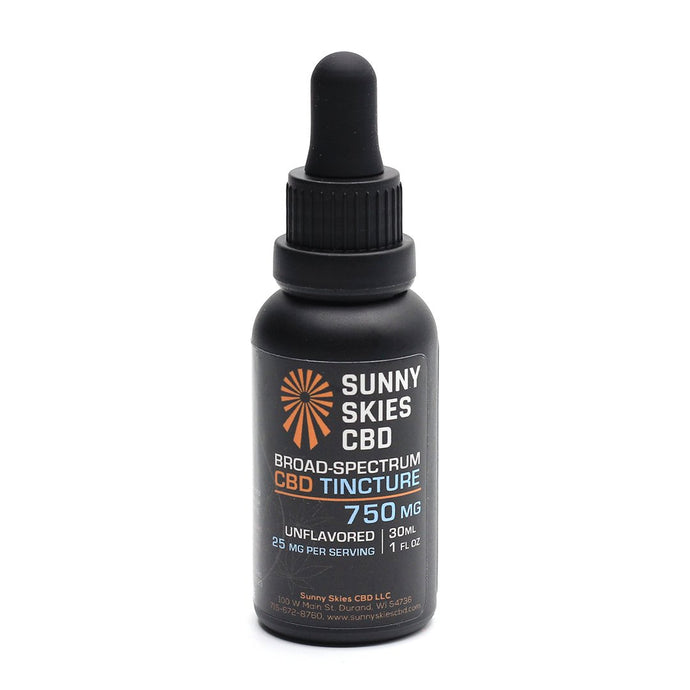 Broad-Spectrum CBD Tincture Unflavored