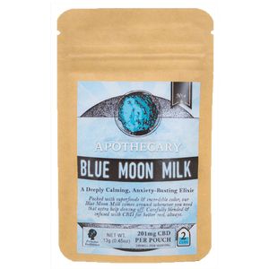 Blue Moon Milk | CBD Latte