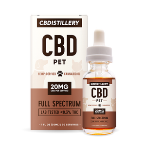 CBDistillery Pet Tincture 600MG