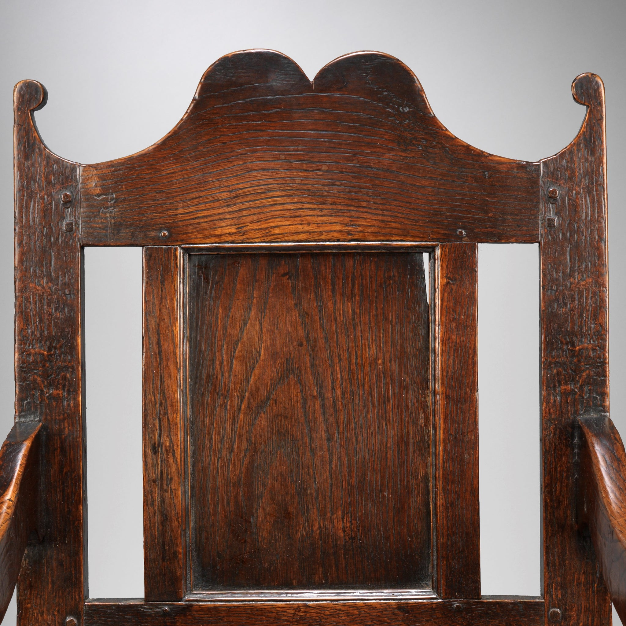 Fine William and Mary Period Open Armchair