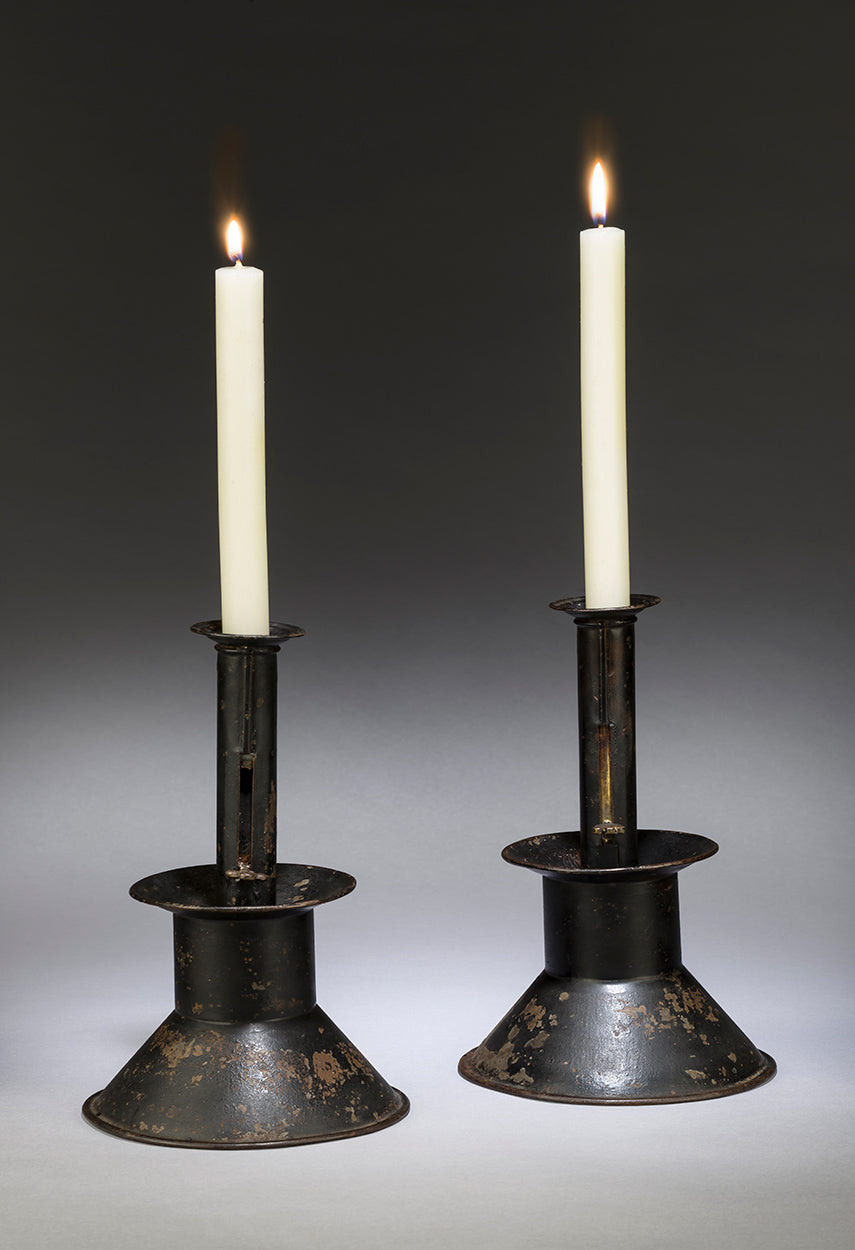 Pair of Adjustable Student's Candlesticks