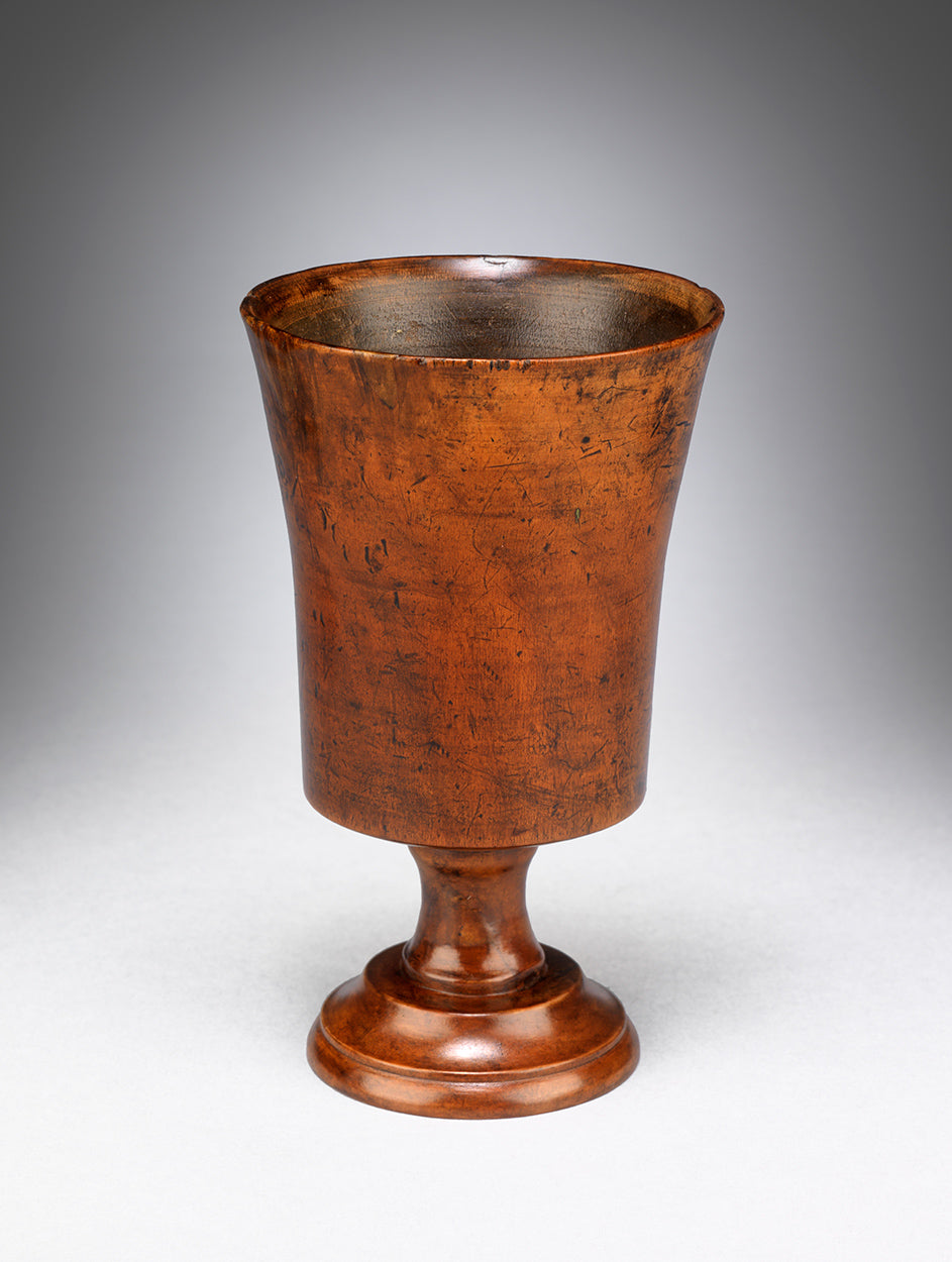 Refined Georgian Fruitwood Goblet