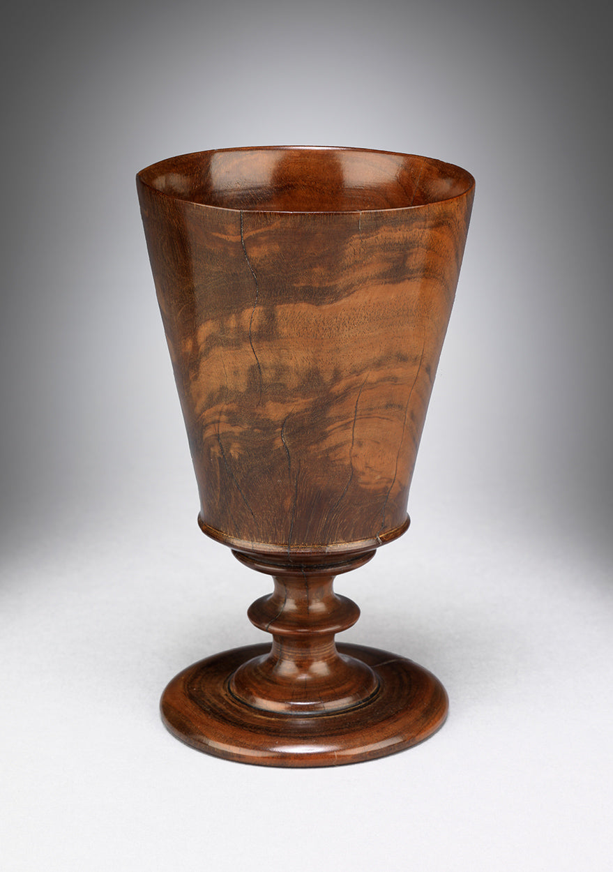 Documented Early Lignum Vitae Goblet