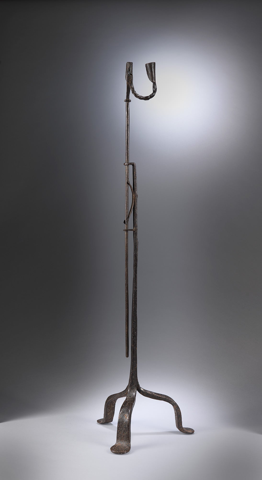 An Early Tripod Floor Standard Lighting Device