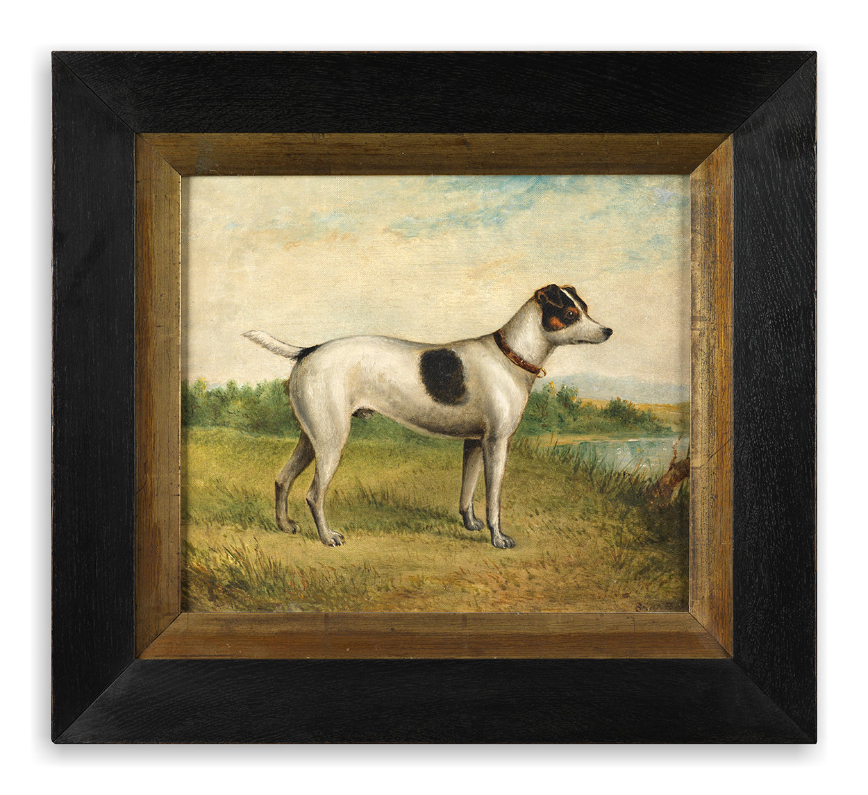 Naïve School Portrait of a Jack Russell