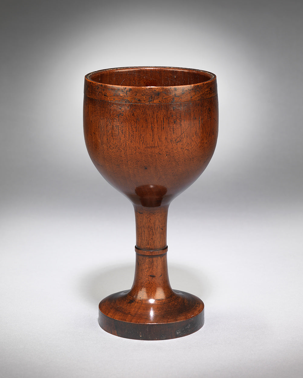 Unusual Georgian Domestic Wine Goblet