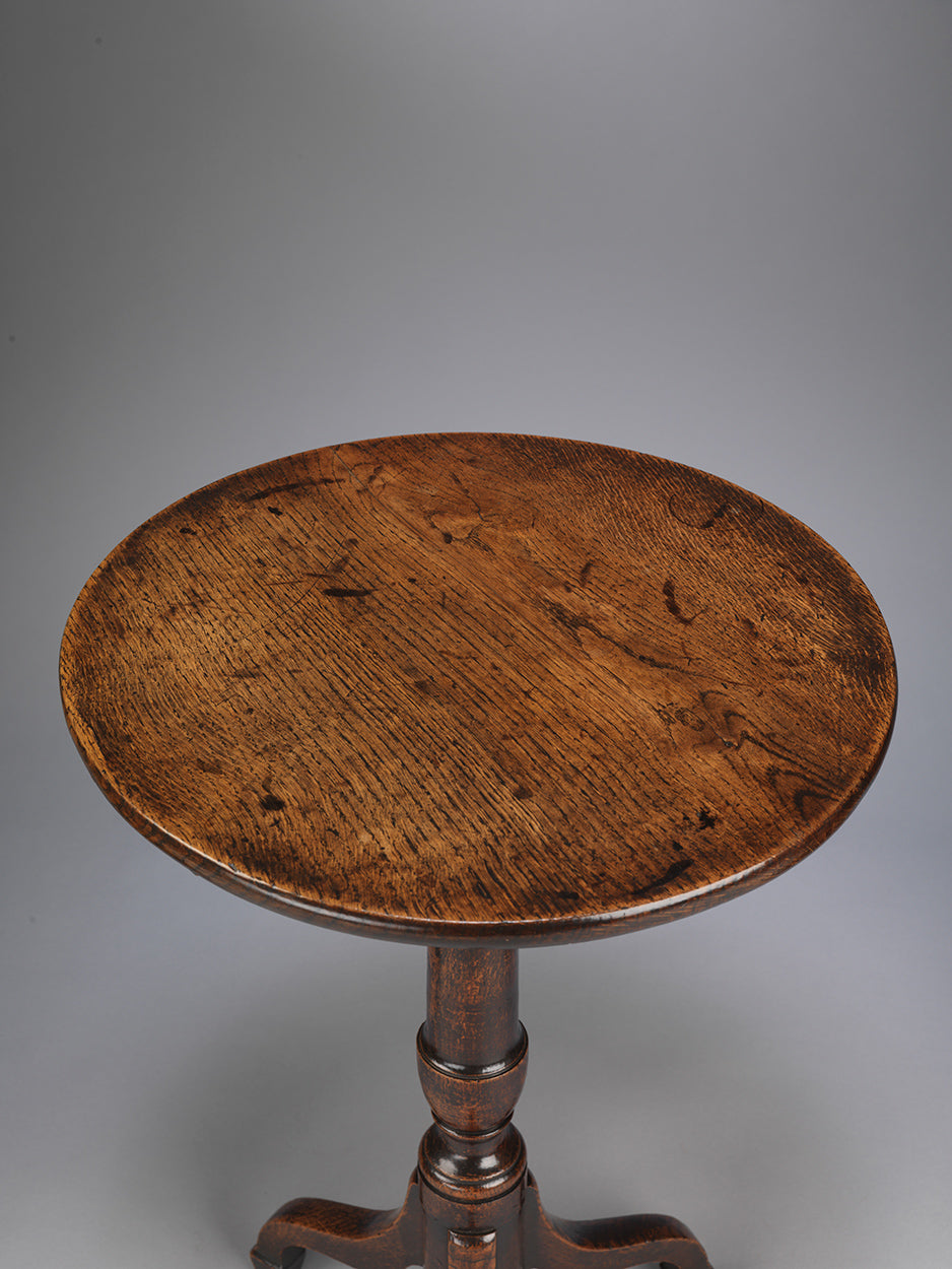 Georgian Vernacular Tripod Wine Table