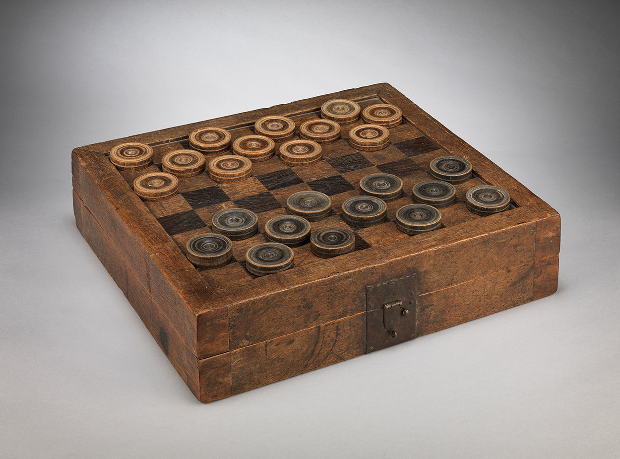 Unusual Early Vernacular Games Box