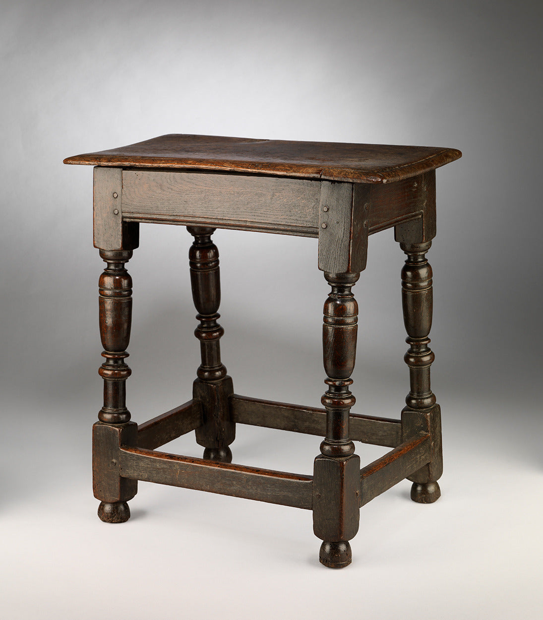 Classic William and Mary Period Joint Stool