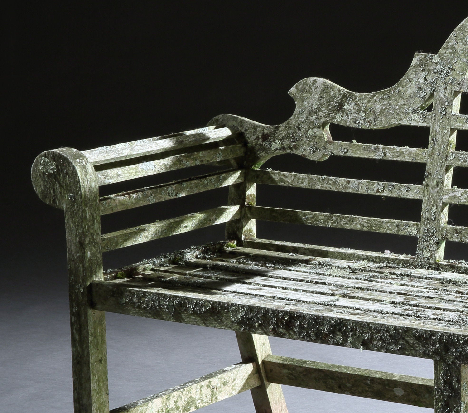 Fine Classic English Architectural Garden Seat