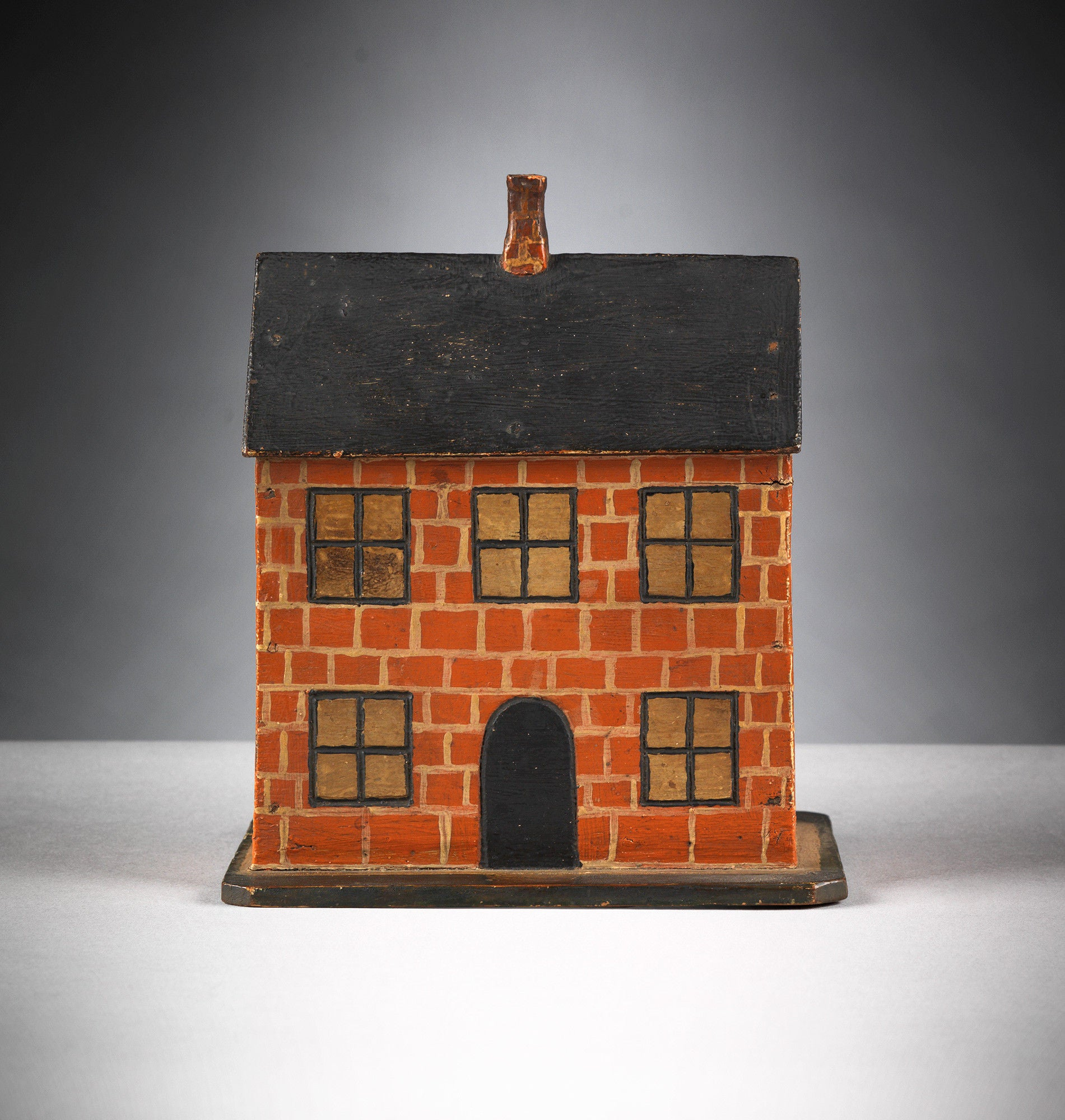 Delightful Primitive Folk Art House Model