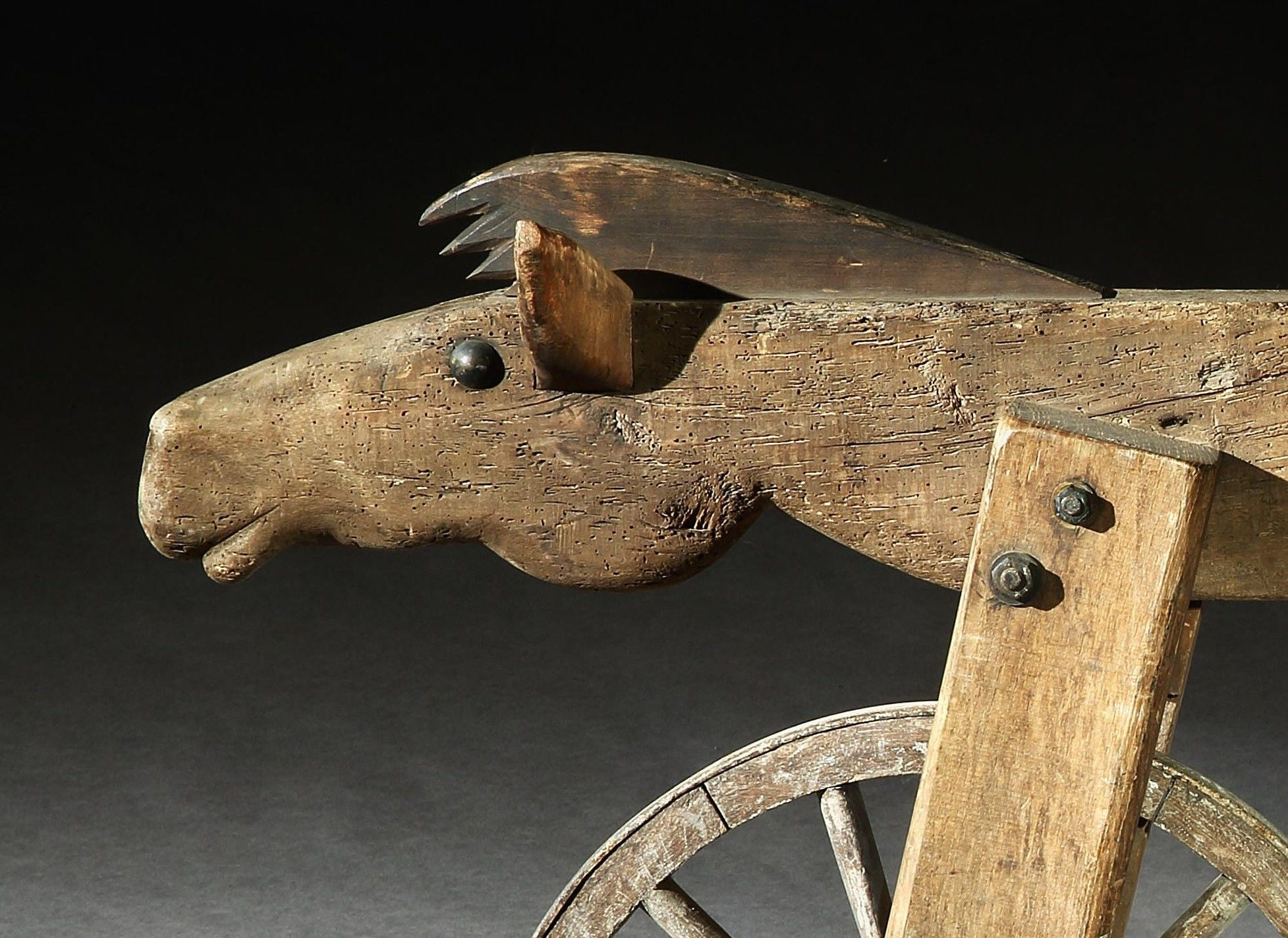 Exceptional Primitive Hobby Horse