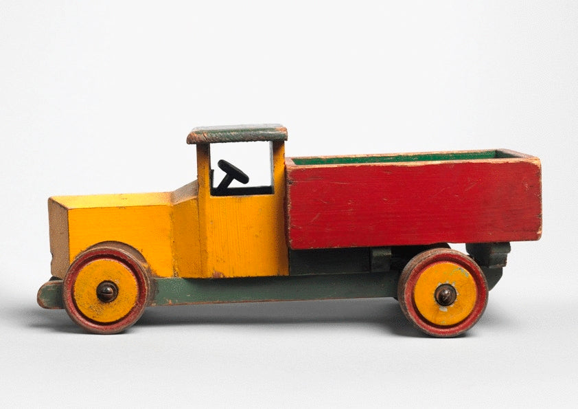 Colourful Hand Made Toy Truck