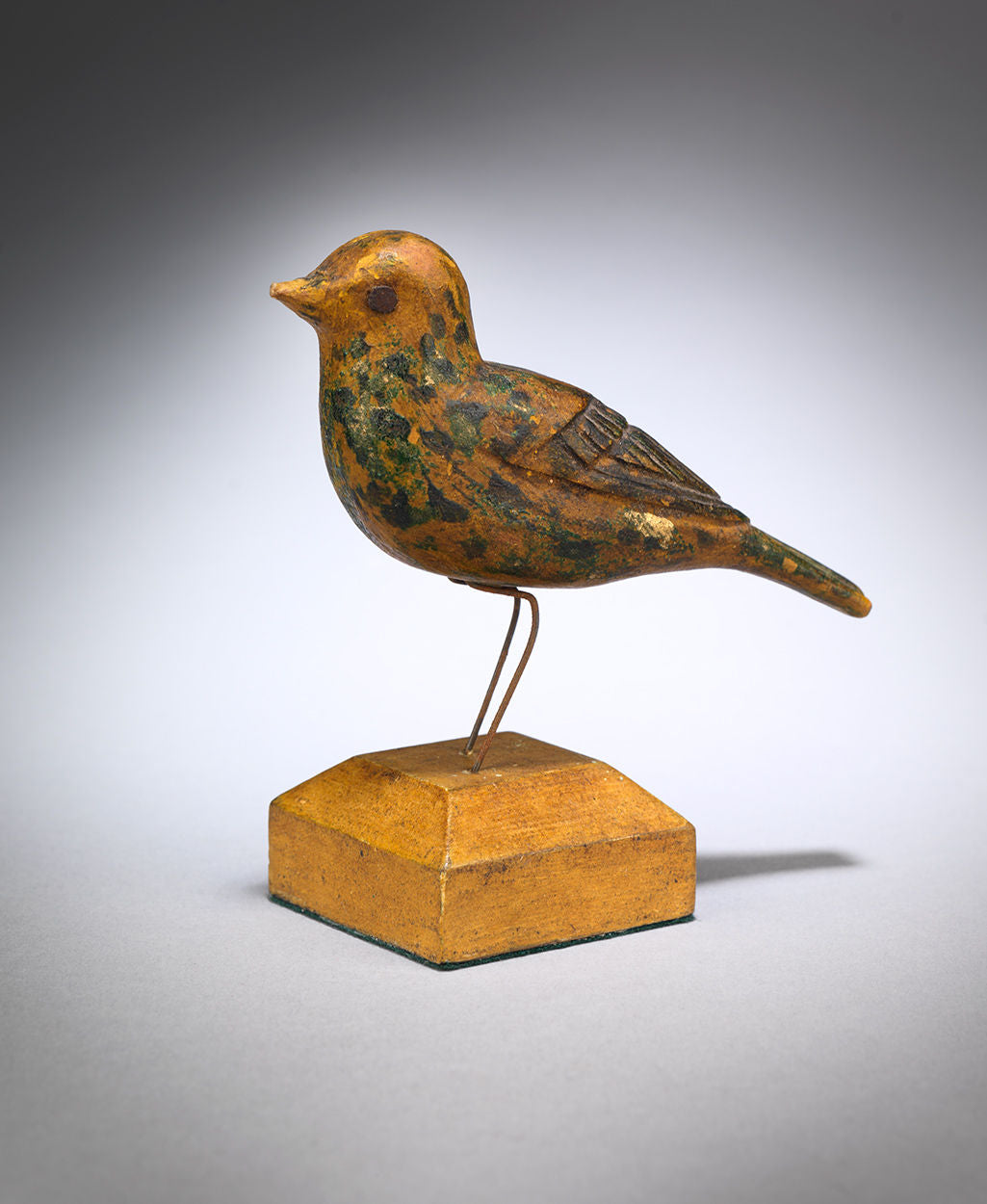 Traditional Miniature Yellow Songbird