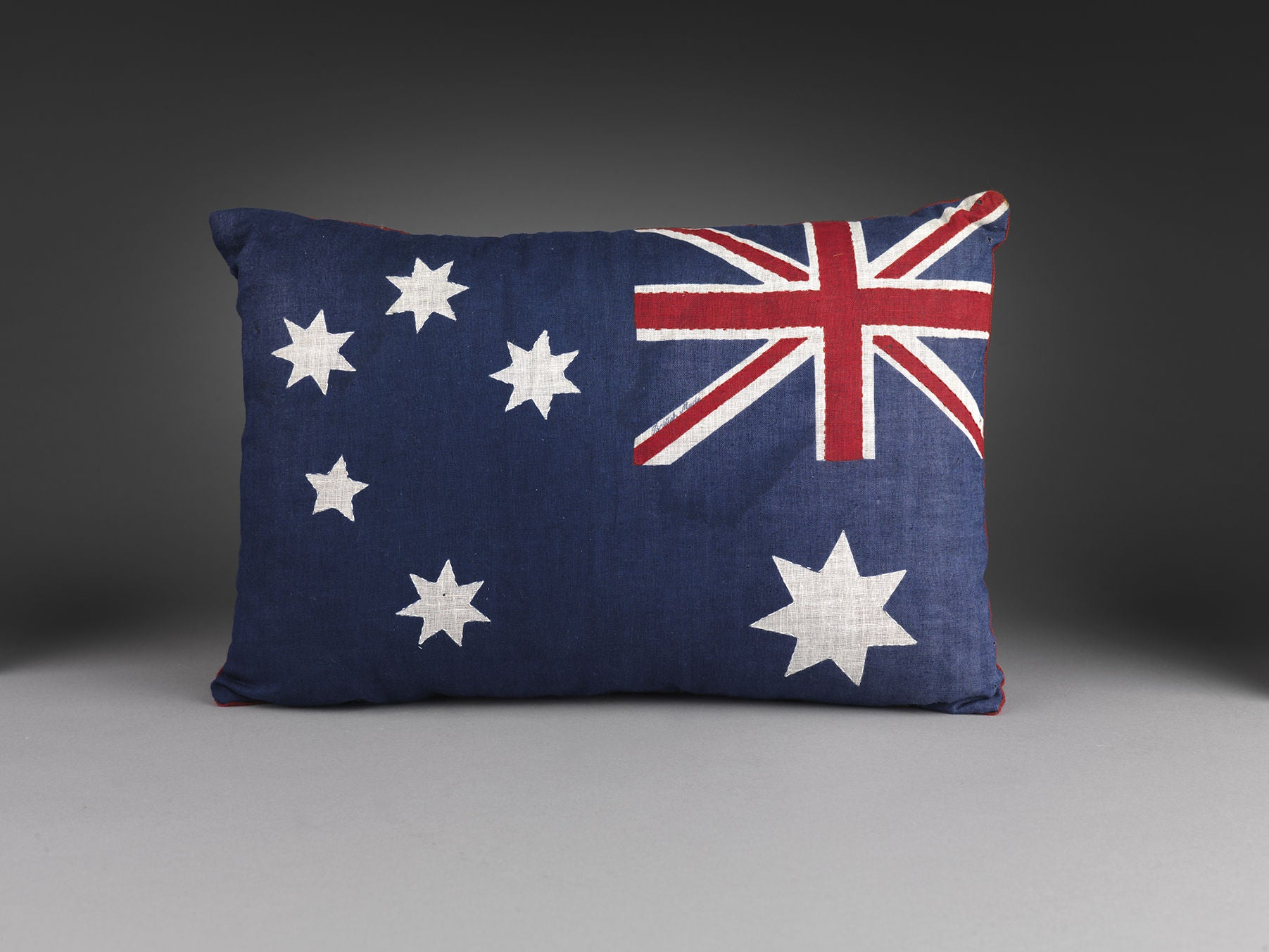 A Small Vintage Flag Cushion