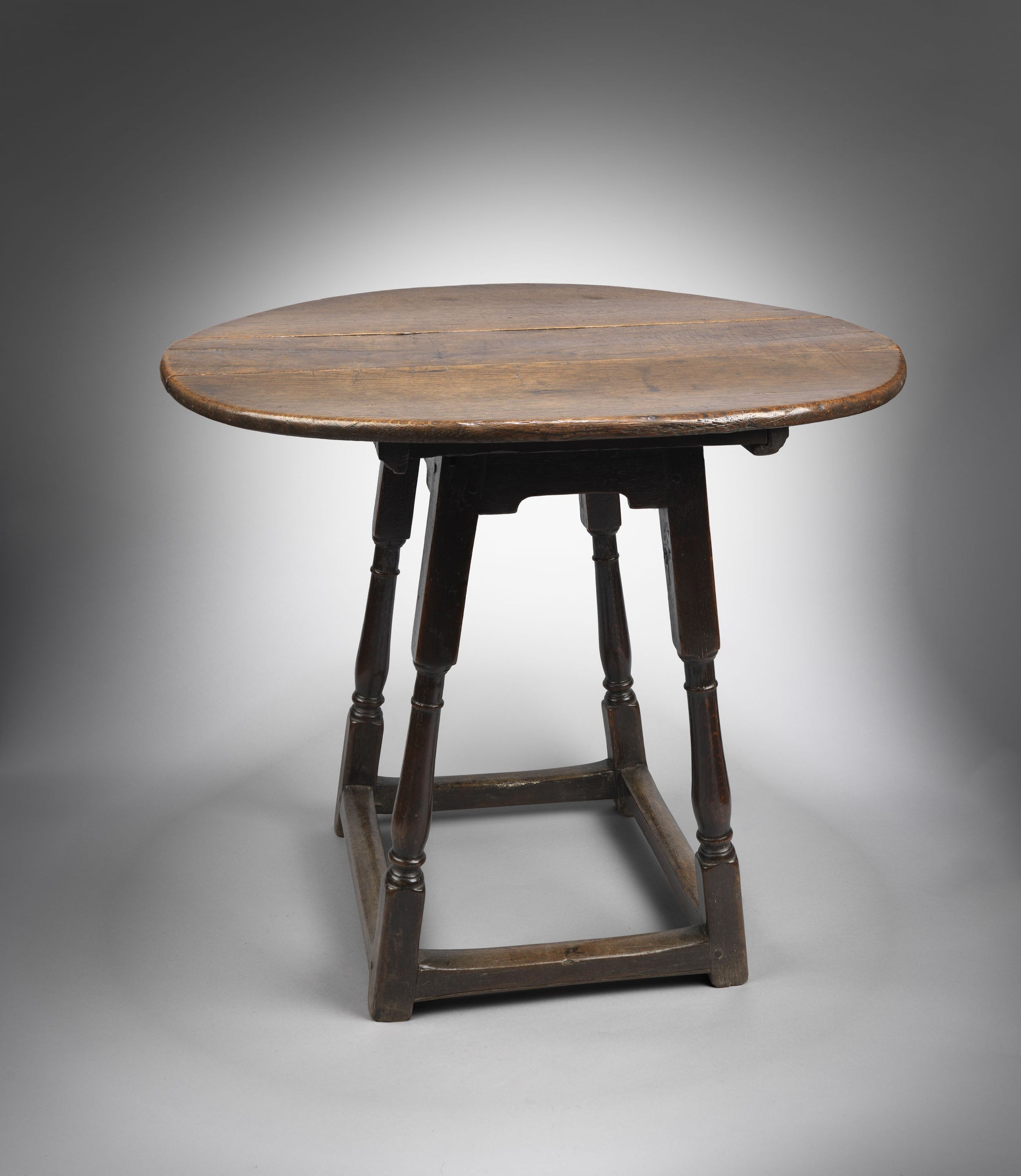 Rare William and Mary Joint Stool
