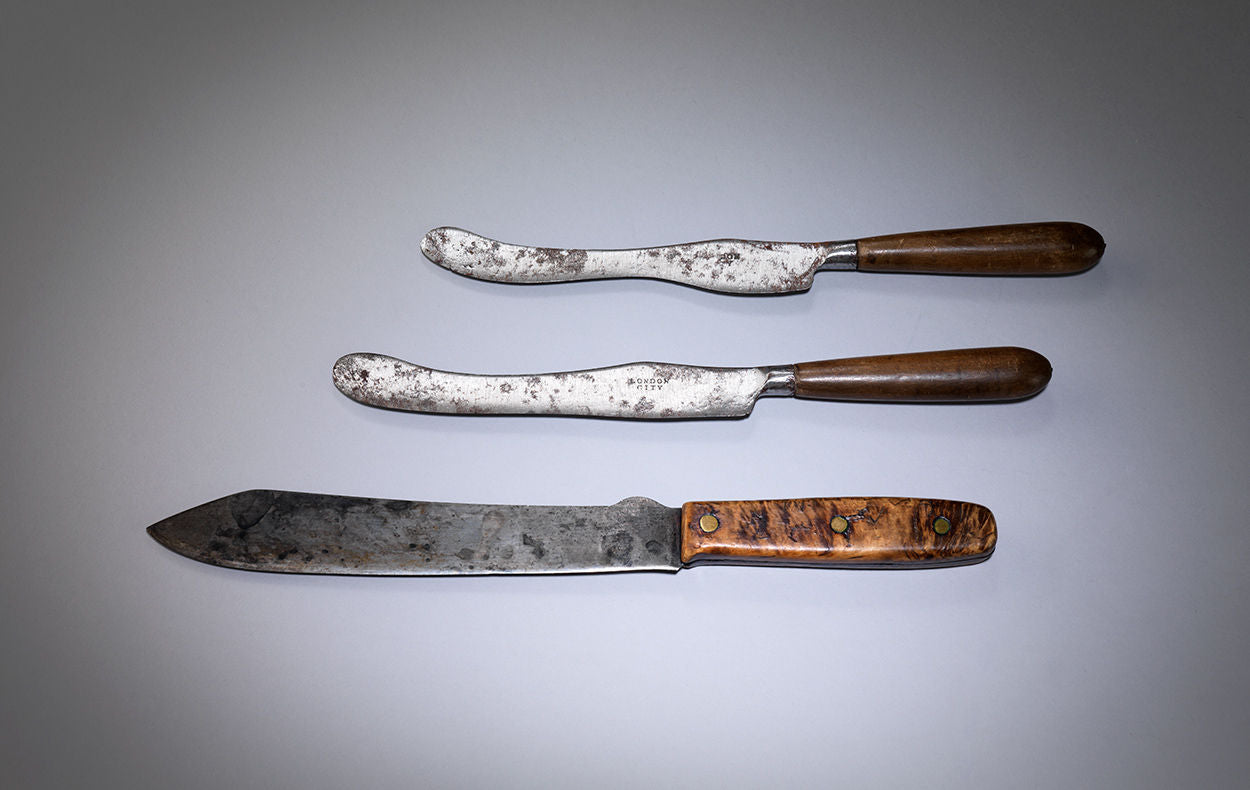 Pair of Early Georgian Table Knives