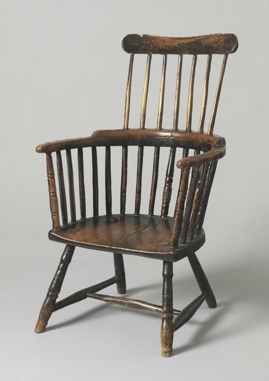 Primitive Comb Back Armchair