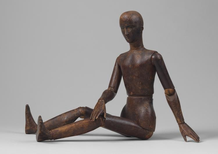 Early Artist's Mannequin or Lay Figure
