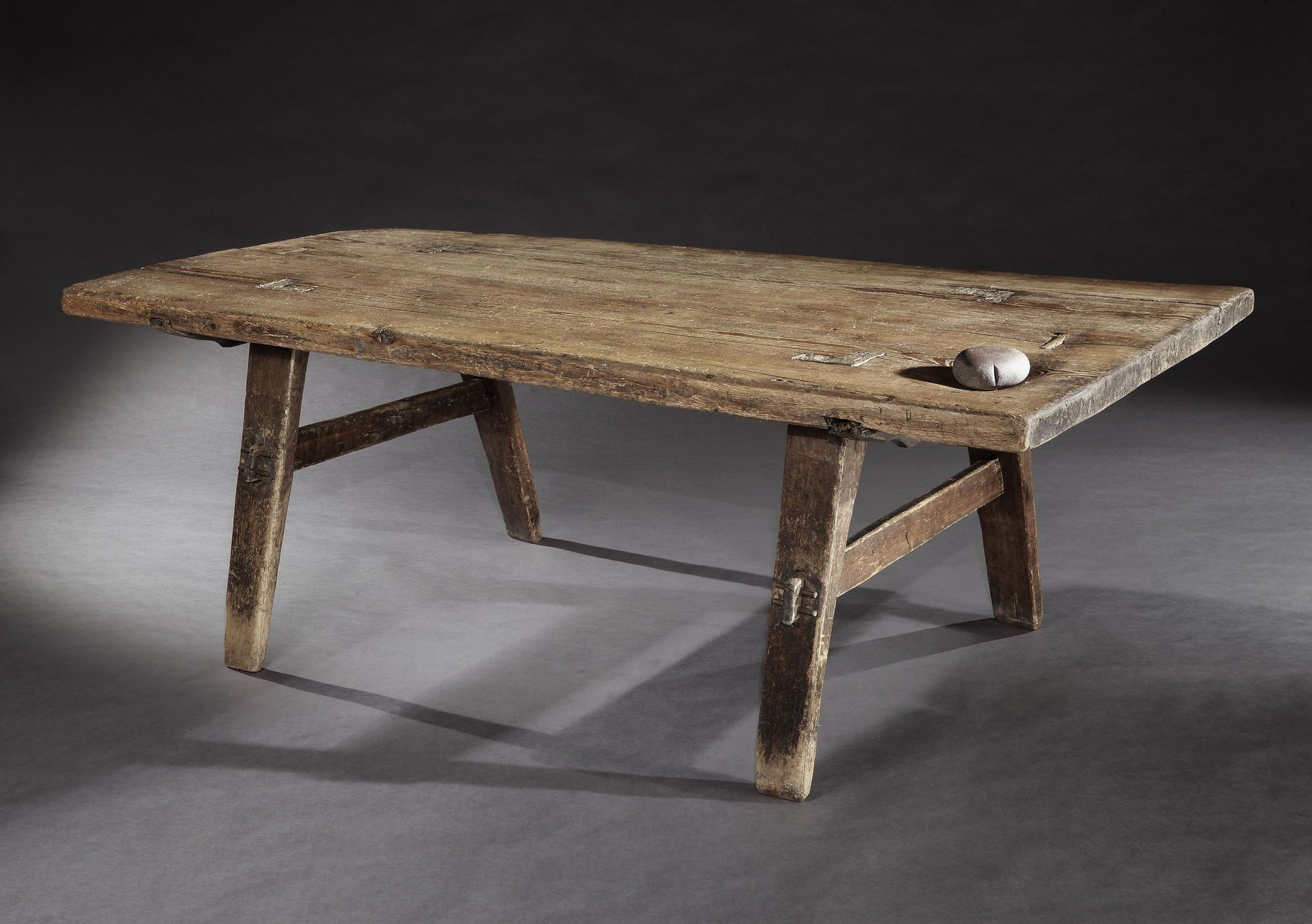 Magnificent Early Swedish Vernacular Farmhouse Dining Table