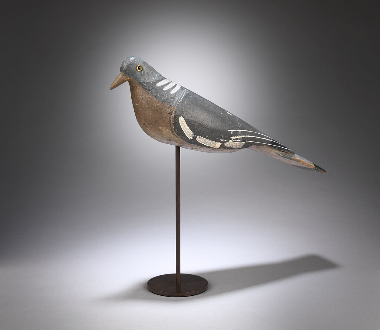 Primitive Working Wood Pigeon Decoy