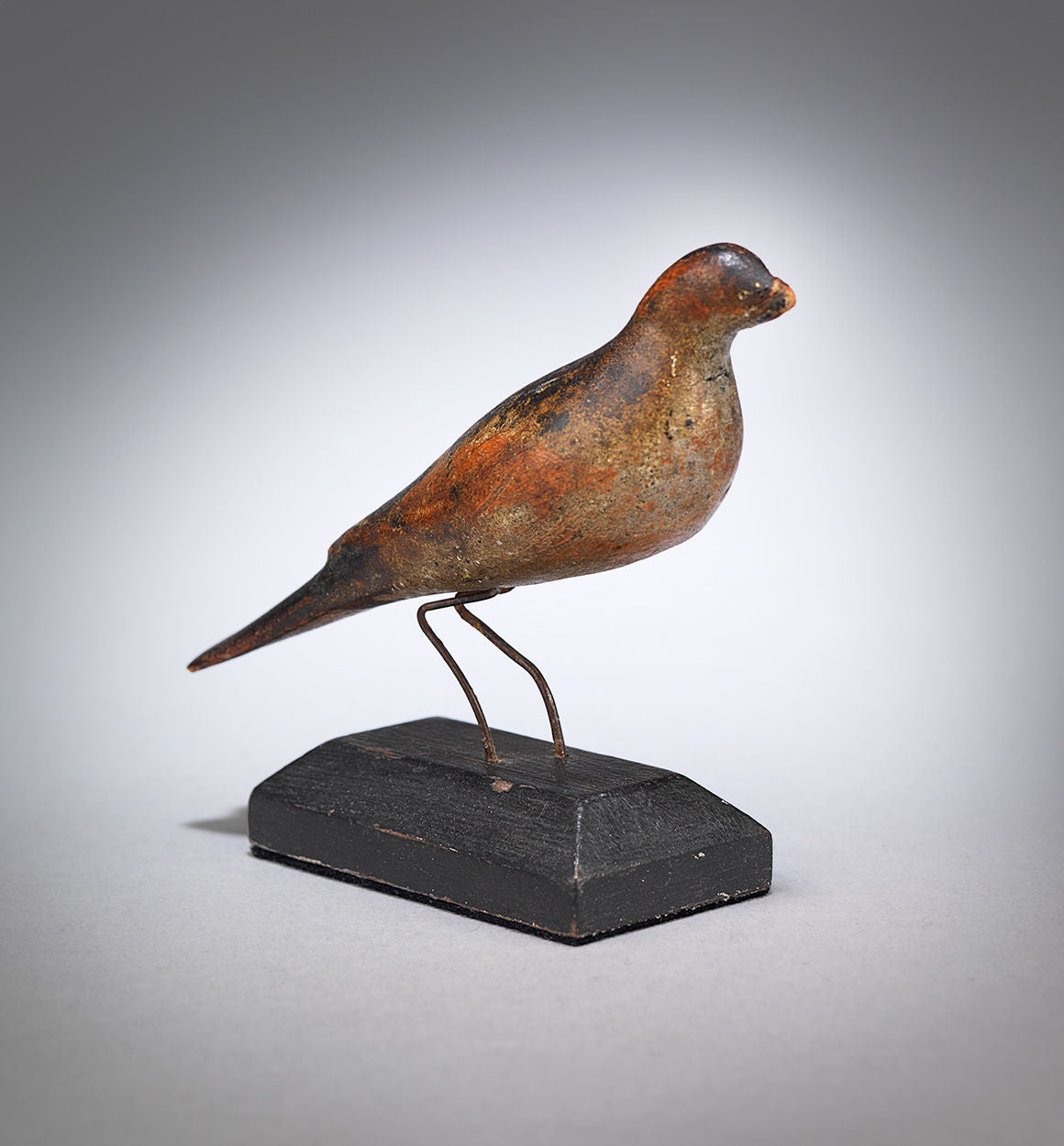 Traditional Miniature Polychromed Songbird