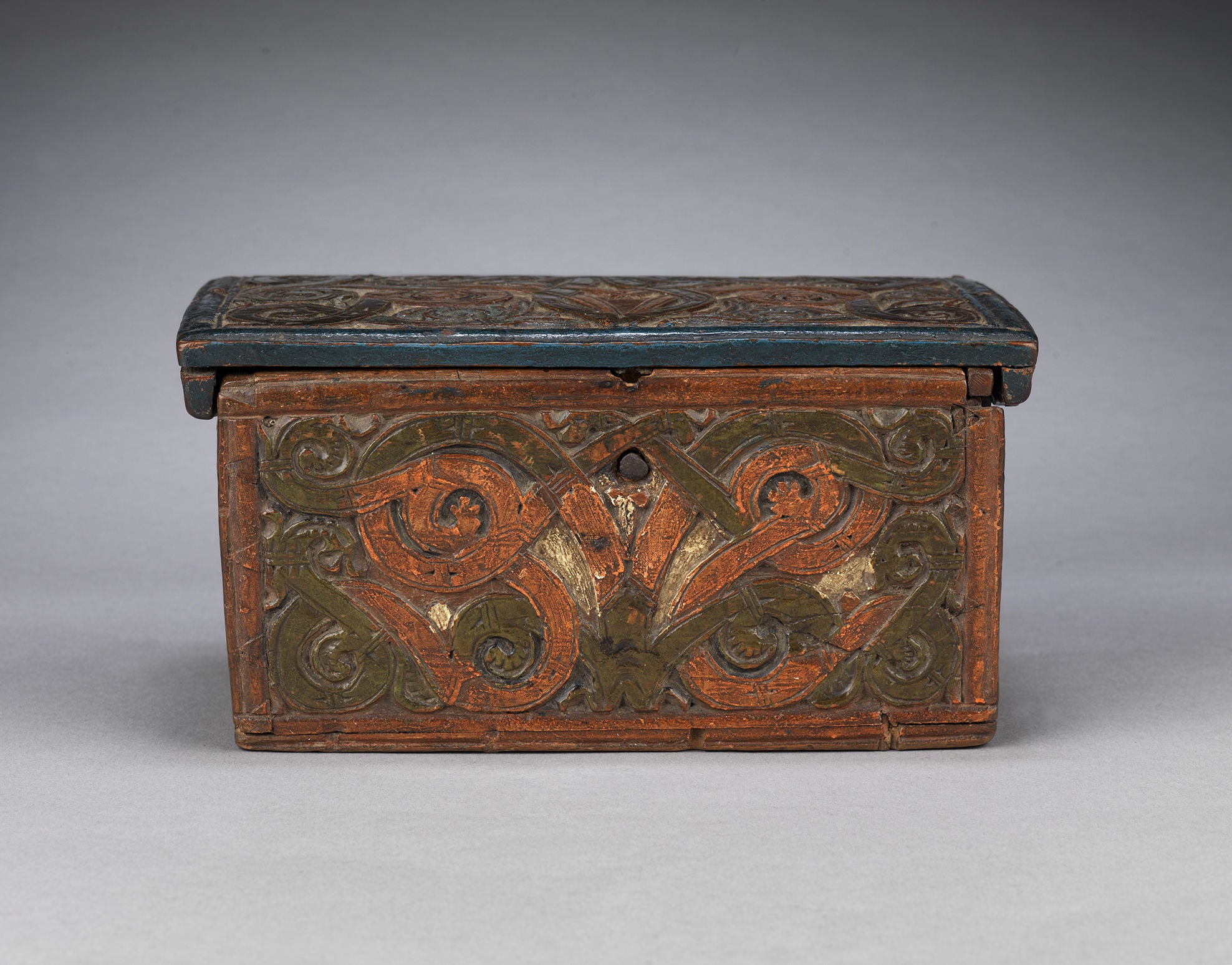 Exceptional Early Setesdal Casket