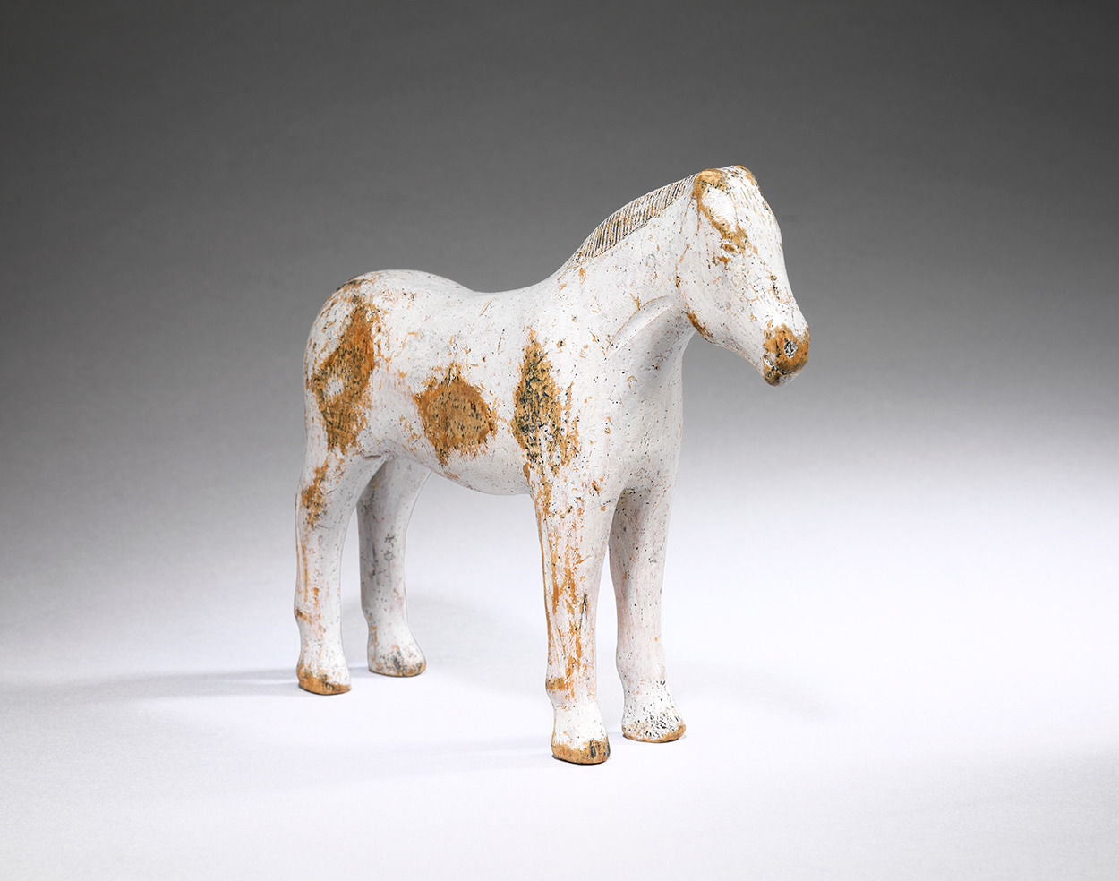 Early Primitive Folk Art Toy Horse